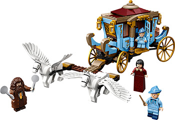Конструктор Lego Harry Potter TM Карета школы Шармбатон: приезд в Хогвартс 75958