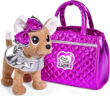 Мягкая игрушка Simba Chi-Chi love ''Гламур'' с розовой сумочкой и бантом 20 см 5893125129 chi luxury black seed oil curl defining cream gel