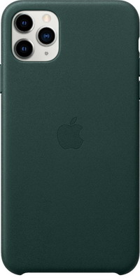Чехол (клип-кейс) Apple iPhone 11 Pro Max Leather Case - Forest Green MX0C2ZM/A