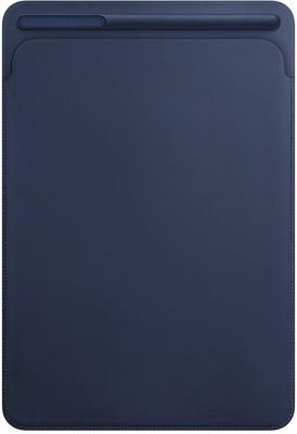 Чехол для планшетов Apple Leather Sleeve для iPad Pro 10 5'' (Midnight Blue) темно-синий MPU22ZM/A