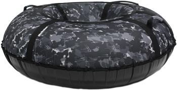 Тюбинг Hubster Люкс Pro Камуфляж черный 120 см во5207-5