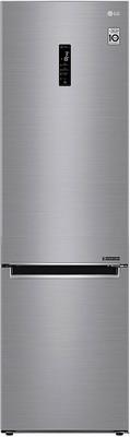 Двухкамерный холодильник LG GA-B 509 MMDZ серебристый цена и фото