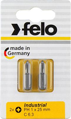Набор бит Felo PH 2X25 серия Industrial 02202036 фото