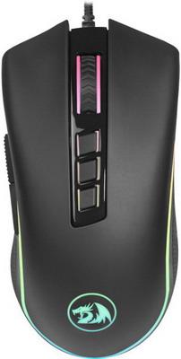 Проводная игровая мышь Redragon Cobra RGB 9 кнопок 10000 dpi (75054)