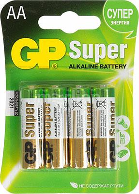 Батарейка GP 15A (LR6) 4 штуки Super Alkaline AA richard garnett the age of dryden