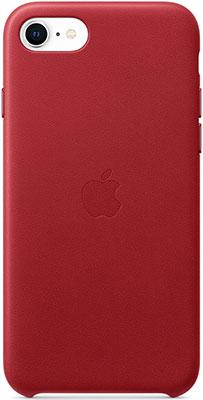 Чехол (клип-кейс) Apple iPhone SE Leather Case - (PRODUCT) RED MXYL2ZM/A клип кейс deppa apple iphone 5 se tpu red