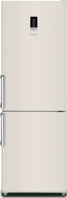 Двухкамерный холодильник Ascoli ADRFY375WE холодильник ascoli acds601w