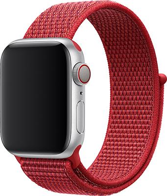 Ремешок для часов Eva для Apple Watch 42/44 mm Красный (AWA009R) ремешок для смарт часов coteetci w33 для apple watch series 2 3 4 42 44mm красный
