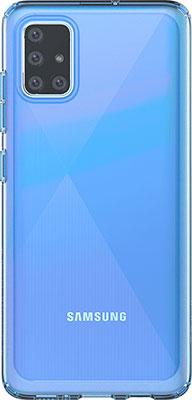 Чехол (клип-кейс) Samsung Samsung Galaxy A51 araree A cover синий (GP-FPA515KDALR) чехол клип кейс samsung araree a cover для samsung galaxy a51 синий [gp fpa515kdalr]