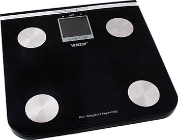 Весы напольные Vitesse VS-614 Черный