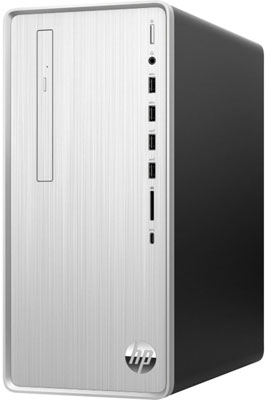 Фото - Компьютер HP Pavilion TP01-1002ur (14R15EA) серебристый игровой компьютер hp pavilion tp01 1002ur 14r15ea mini tower intel core i3 10100 8 гб 256 гб ssd nvidia geforce gtx 1650 windows 10 home серебристый черный