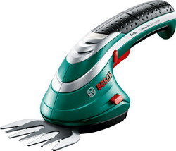 Ножницы для травы Bosch ISIO 3 (0600833100) аккумуляторные ножницы bosch isio 3 для травы и кустов перчатки laura ashley 060083310m