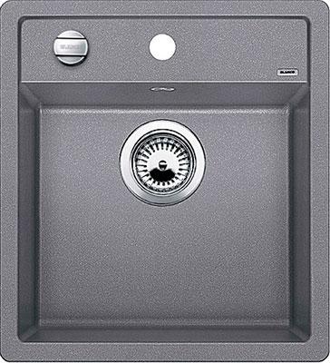 цена на Кухонная мойка Blanco DALAGO 45 SILGRANIT алюметаллик с клапаном-автоматом