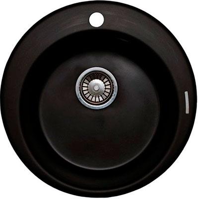 Кухонная мойка LAVA R.1 (LAVA чёрный металлик)