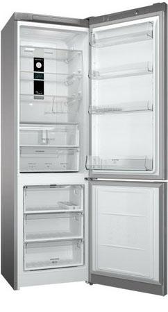 лучшая цена Двухкамерный холодильник Hotpoint-Ariston HF 9201 X RO
