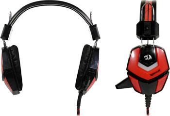 Накладные наушники Redragon Ridley красный черный (64204) цена и фото