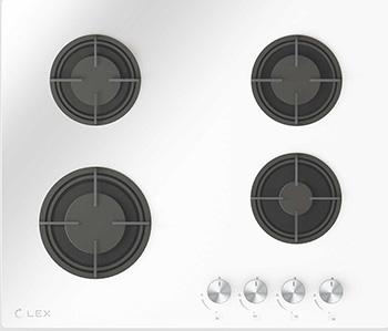 Встраиваемая газовая варочная панель Lex GVG 641 WH цена и фото