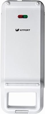 все цены на Вафельница Kitfort КТ-1611-3 белый онлайн