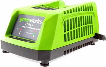 Зарядное устройство Greenworks G 24 C 2903607 зарядное устройство greenworks g24uc 2903607 без аккум