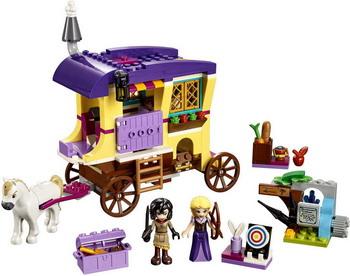 Фото - Конструктор Lego Disney Princess: Экипаж Рапунцель 41157 lego конструктор lego disney princess 41157 экипаж рапунцель