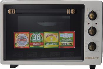 Электропечь Kraft KF-MO 3601 BG retro