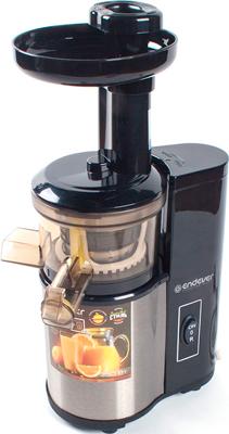 Соковыжималка универсальная Endever Sigma 95 стальной/черный цена и фото