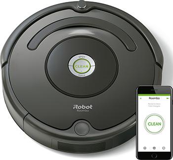 Робот-пылесос iRobot Roomba 676 черный пылесос irobot