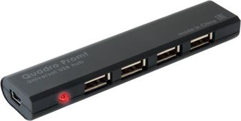 Разветвитель USB Defender, Quadro Promt USB 2.0 4 порта 83200
