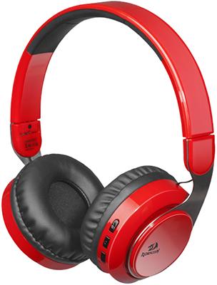 Беспроводная Bluetooth-гарнитура Redragon Sky R красный 64211 цена и фото