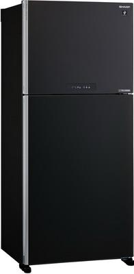 Фото - Двухкамерный холодильник Sharp SJ-XG 55 PMBK двухкамерный холодильник hitachi r vg 472 pu3 gbw