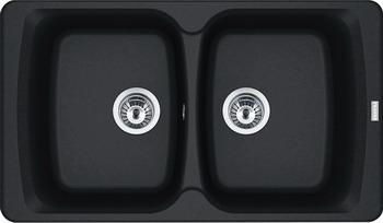 Кухонная мойка FRANKE Antea AZG 620 оникс вентиль 114.0489.303