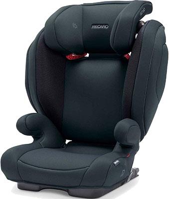 Автокресло Recaro Monza Nova 2 Seatfix гр. 2/3 расцветка Select Night Black автокресло группа 2 3 15 36 кг recaro monza nova 2 seatfix xenon blue