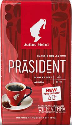 Фото - Кофе молотый Julius Meinl Президент Классическая Коллекция 250 г 75504 кофе молотый julius meinl юбилейный 250 г