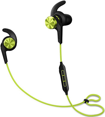 Фото - Наушники беспроводные 1More iBfree Sport Bluetooth In-Ear Headphones Green (E1018BT-Green) green sexy v neck high waist irregular hem maxi dress