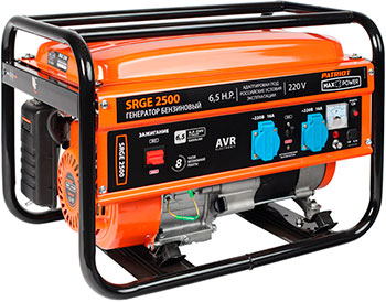 Электрический генератор и электростанция Patriot 474103130 Max Power SRGE 2500 электрогенератор patriot max power srge 1000it