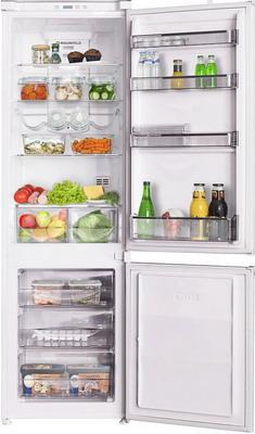 Встраиваемый двухкамерный холодильник MAUNFELD MBF.177 NFW
