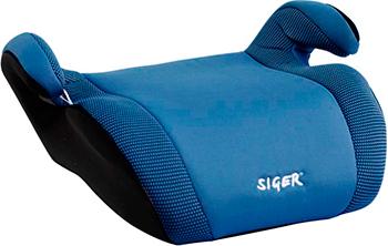 Автокресло Siger Мякиш Плюс синий 22-36 кг бустер группа 3 22 36 кг siger мякиш плюс синий