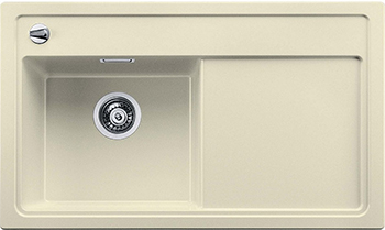 Кухонная мойка Blanco 523823 ZENAR 45 S-F (чаша слева) SILGRANIT жасмин с кл.-авт. InFino цена в Москве и Питере