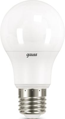Лампа GAUSS LED A 60 10 W E 27 4100 K 1/10/50