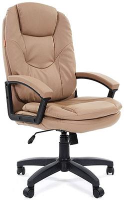 Офисное кресло Chairman, 668 LT чер.пласт бежевый, Россия  - купить со скидкой