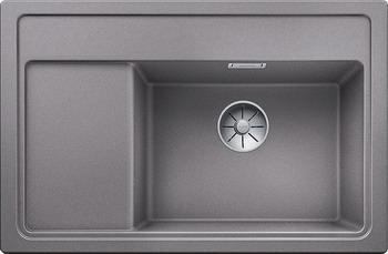 Фото - Кухонная мойка BLANCO ZENAR XL 6S Compact алюметаллик чаша справа доска стекло c кл.-авт. InFino 523708 кухонная мойка blanco 523888 zenar xl 6s f чаша справа silgranit алюметаллик с кл авт infino