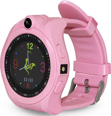 Детские часы с GPS поиском Ginzzu GZ-507 pink 1.44'' Touch nano-SIM 16832 недорого