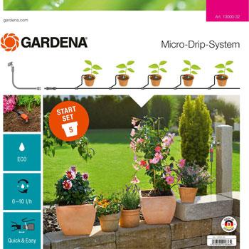 Набор для полива Gardena Комплект для террас базовый (дисплей) 13000-32 цена