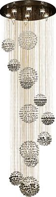 Люстра потолочная CHIARO Каскад 384012409 люстра потолочная chiaro каскад 384011306