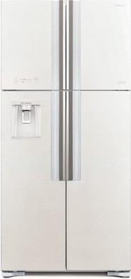 Холодильник Side by Side Hitachi R-W 662 PU7 GPW белое стекло