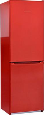 цена Двухкамерный холодильник NordFrost NRB 119 832 красный онлайн в 2017 году
