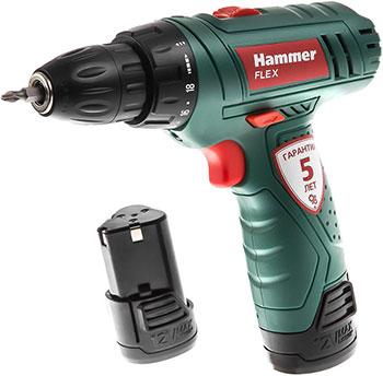 Дрель-шуруповерт Hammer Flex ACD 12/2LE