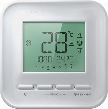 лучшая цена Терморегулятор Теплолюкс 520 белый
