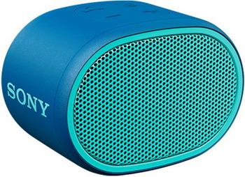 Портативная акустика Sony SRS-XB 01 L синяя цена и фото