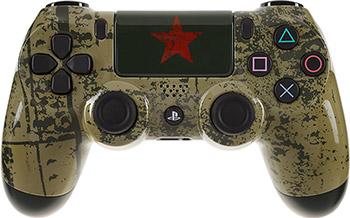 Беспроводной геймпад Sony DUALSHOK 4 ''Броня победы'' игровая приставка ps4 sony 500gb